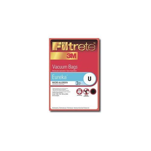 Filtrete VFM67701-V3M Type U Eureka Vacuum Cleaner Replacement Bag