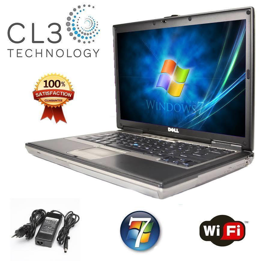 Refurbished Dell Latitude D820 Laptop w/ 15' LCD 80GB HD DVD WIFI + 4GB RAM