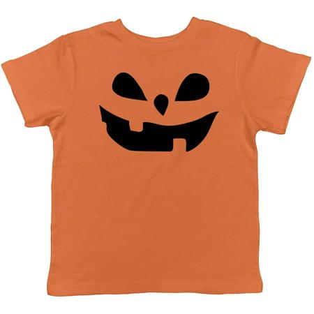 Toddler Teardrop Eyes Pumpkin Face Funny Fall Halloween Spooky T shirt](Funny Halloween Faces)