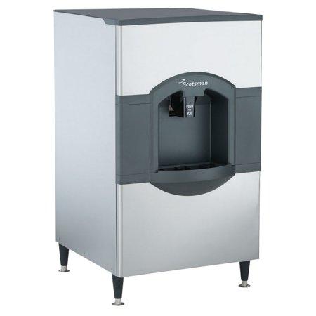 Scotsman HD30W-1 Floor Model Cube Ice Dispenser w/ 180 lb Storage - Bucket Fill, (Ice Storage Dispenser)