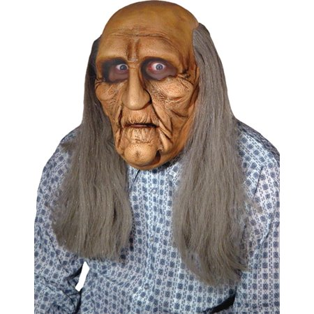 OLD MAN REALISTIC MASK-MR031129 - Halloween Mask Old Man
