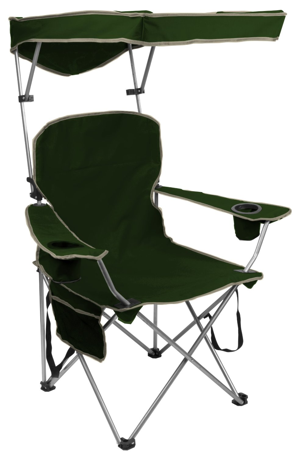 Quik Shade Adjule Canopy Folding Camp Chair Com