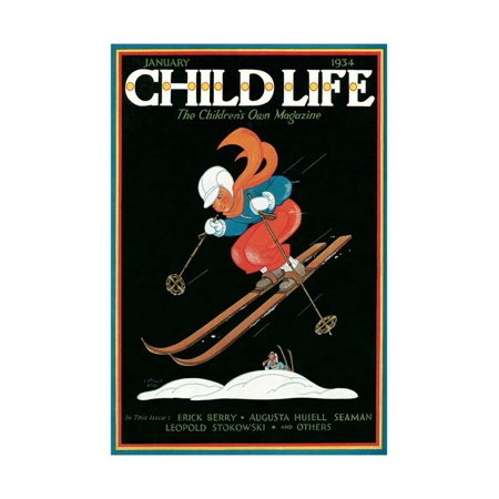 Magazine Cover, Child Life Print Wall Art (Best Life Magazine Covers)