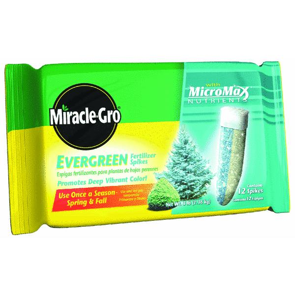 Miracle-Gro Evergreen Fertilizer Spikes