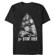 Star Trek Men's Starfleet Gang is All Here T-Shirt
