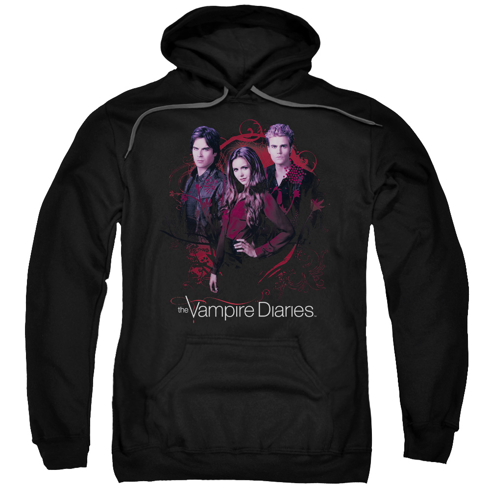 The Vampire Diaries Company Of Three Mens Pullover Hoodie