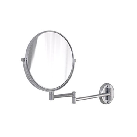 Aquatrend 8034 Chrome Finish Brass Magnifying Wall Mount Hanging Mirror  Women Bathroom Make Up Accessory Set - Walmart.com 2128937651