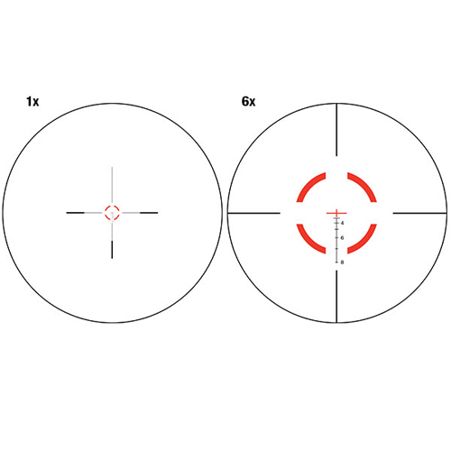 Trijicon VCOG 1-6x24mm Segmented Circle Crosshair Riflescope VC16-C-1600008 by Trijicon
