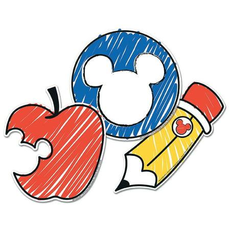 Disney Classroom Decorations (Fun Express - Disney Mickey Color Pop Cutouts - Educational - Classroom Decorations - Bulletin Board Decor - 36)