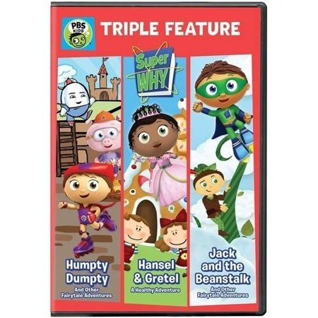 Super Why   Triple Feature  Humpty Dumpty  Hansel   Gretel  And Jack
