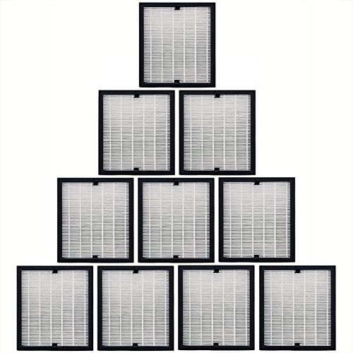 10 Replacement 3 in 1 Filter Packs for Solair 3500 Elite Air Purifiers