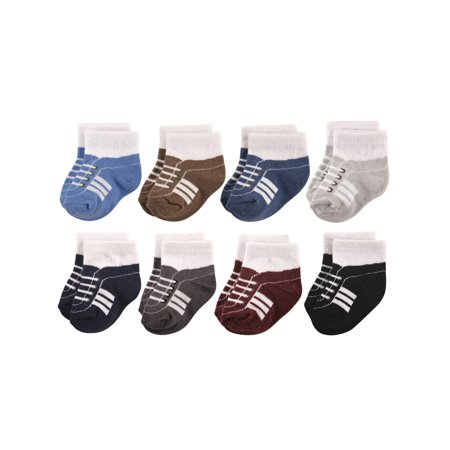 Sneaker Crew Socks, 8-Pack (Baby Boys)
