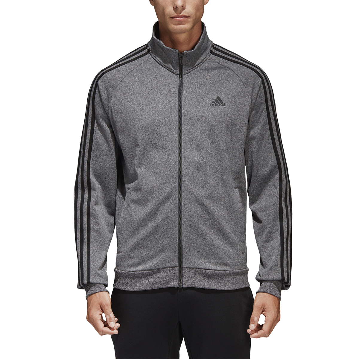 Adidas Essentials 3-Stripe Tricot Track Jacket  - Mens