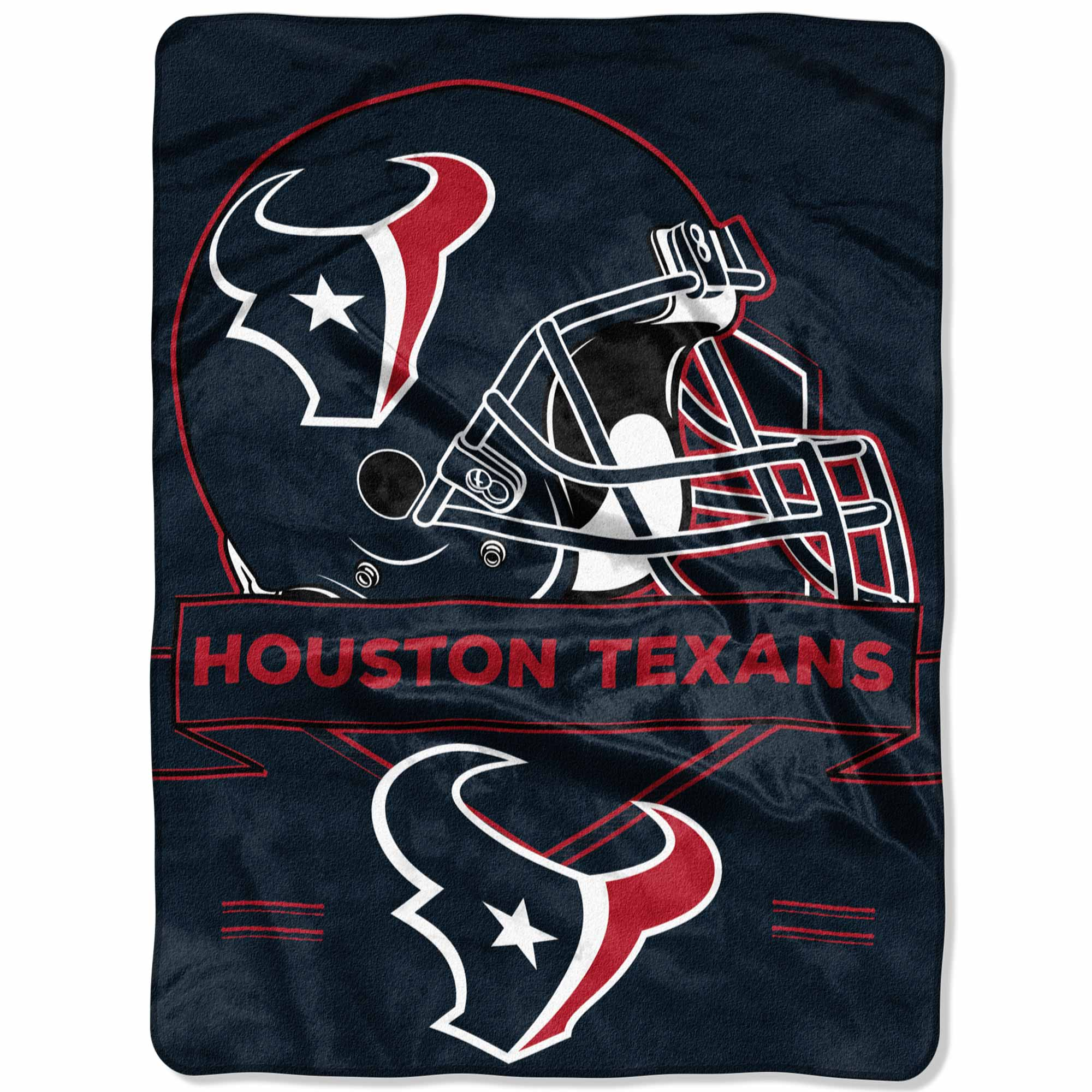 "Houston Texans The Northwest Company 60"" x 80"" Prestige Raschel Blanket - No Size"