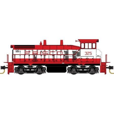 Micro-Trains MTL N-Scale EMD SW1500 Diesel Locomotive Frisco/SLSF Red/White #325