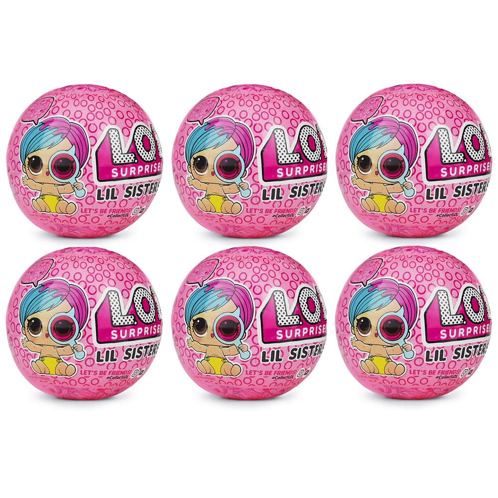 Set of LOL Surprise Dolls Series 2 Wave 1 /& Wave 2 Lil Sisters Ball Lil Outrageous Littles Mystery Pack