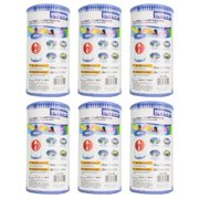 (Pack of 6) Intex 29000E/59900E Easy Set Pool Replacement Type A or C Filter ...