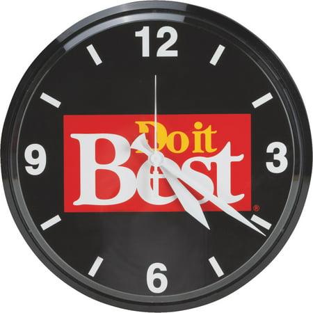 Do it Best Round Clock