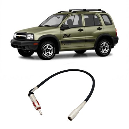 Chevy Tracker 1998-2004 Factory Stereo to Aftermarket Radio Antenna Adapter Plug