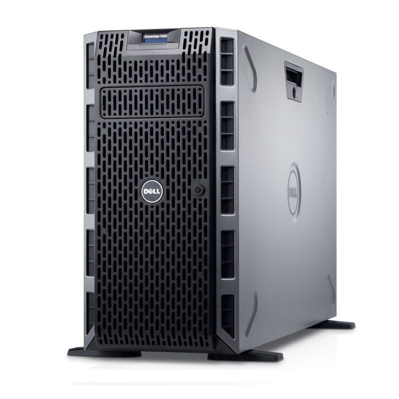 Refurbished Dell PowerEdge T620 LFF 2x E5-2660 Eight Core 2.2Ghz 192GB 5x 300GB 15K H710