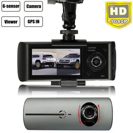 1080P Dual Lens Dash Cam WiFi Car DVR Camera Recorder G-Sensor GPS Night Vision - image 12 of 12
