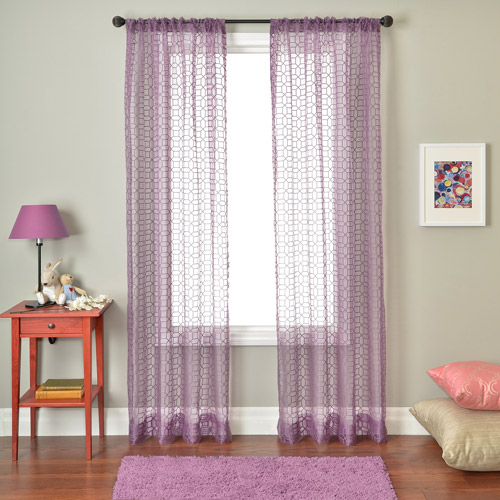 Softline Windsor Rod Pocket Curtain Panel