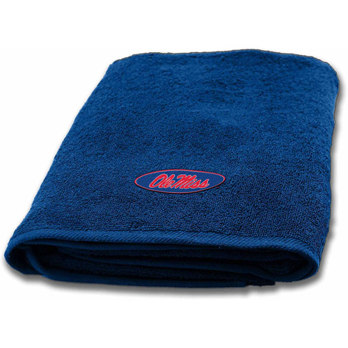 NCAA Applique Bath Towel, Ole Miss