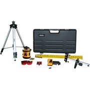 Johnson Level & Tool 40-6517 Self-Leveling Horizontal Rotary Laser Level Kit
