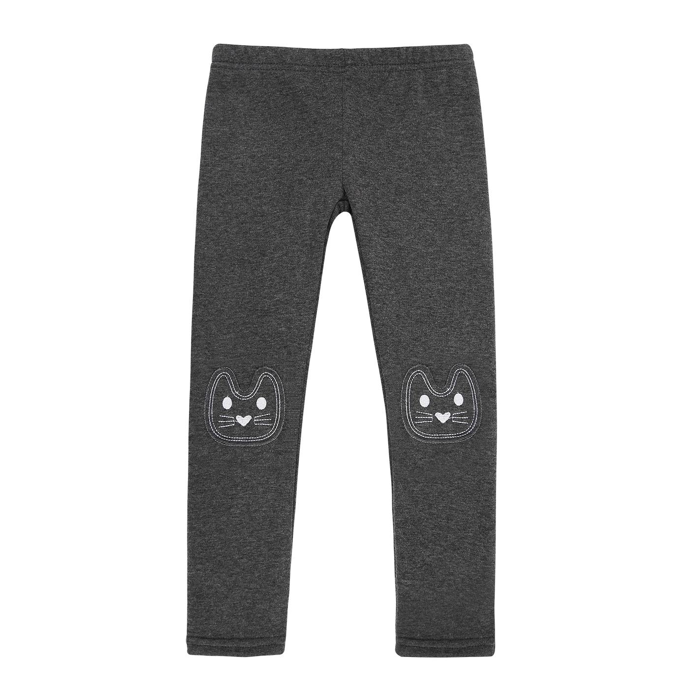 398e318fccb13 HDE Girls Fleece Winter Knit Leggings Kids Nordic Stretch Pants Footless  Tights (Black White Checkered, Medium / 7-8 )