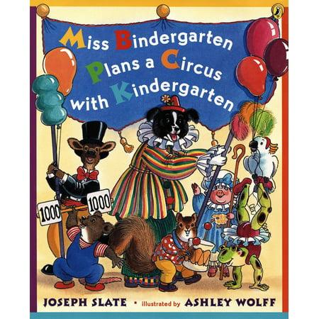 Miss Bindergarten Plans a Circus With Kindergarten - eBook - Halloween Lesson Plans For Kindergarten