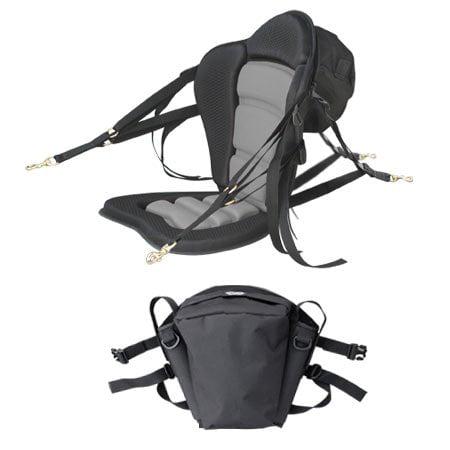 GTS Elite Molded Foam Kayak Seat With Fishing Pack, Sit On Top Kayak Seat, Surf To Summit Kayak Seat, Ocean Kayak Seat