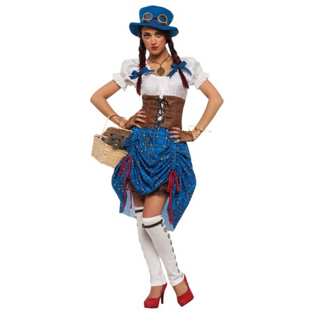Steampunk Victorian Adult Dorothy Oz Costume - Dorothy Costume Adult