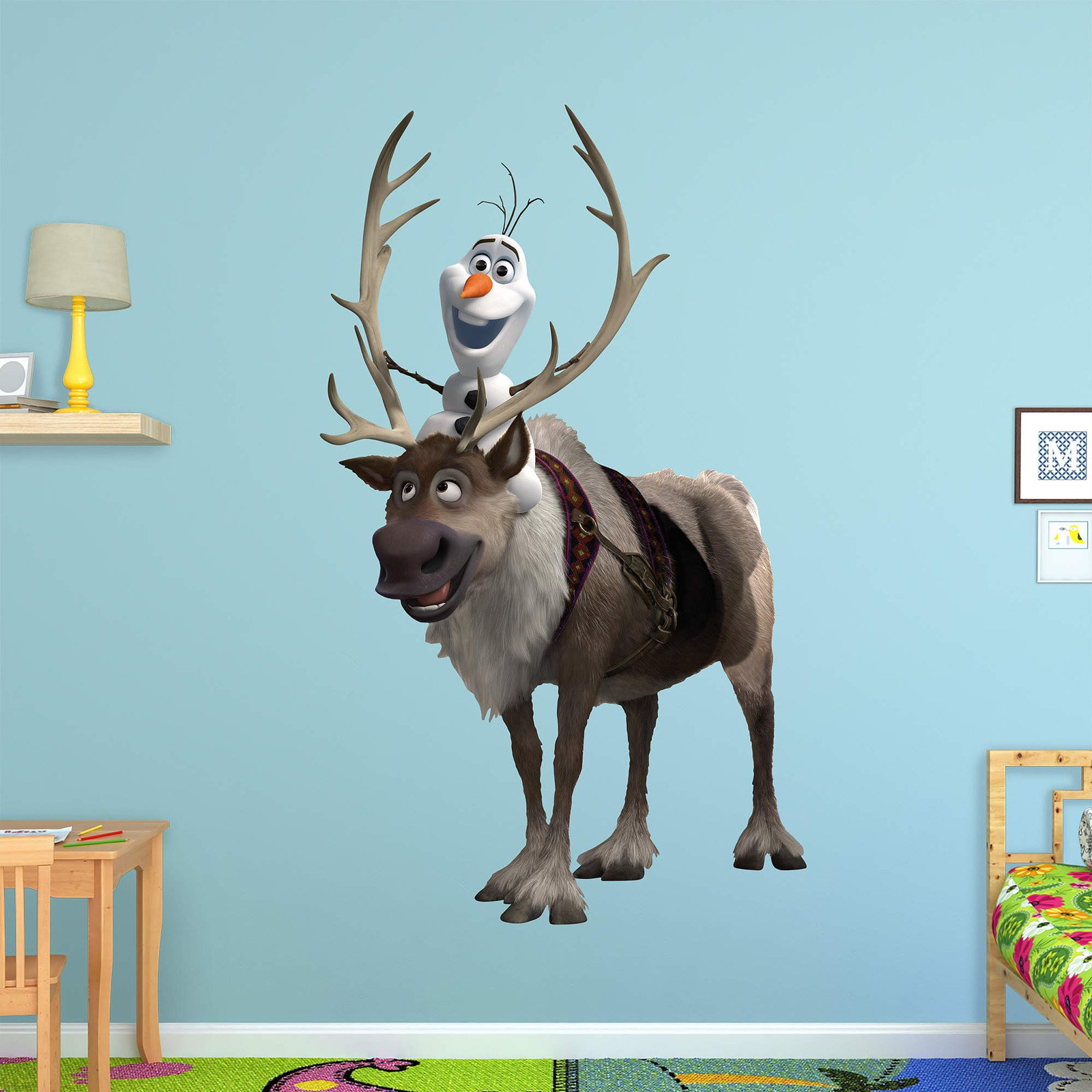 Fathead Frozen Sven and Olaf Wall Decal
