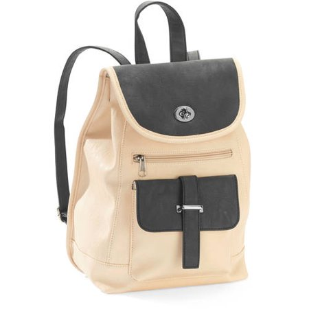 No Boundaries Women S Mini Faux Leather Backpack Handbag