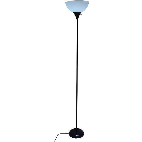 "Mainstays 71"" Floor Lamp, Black"