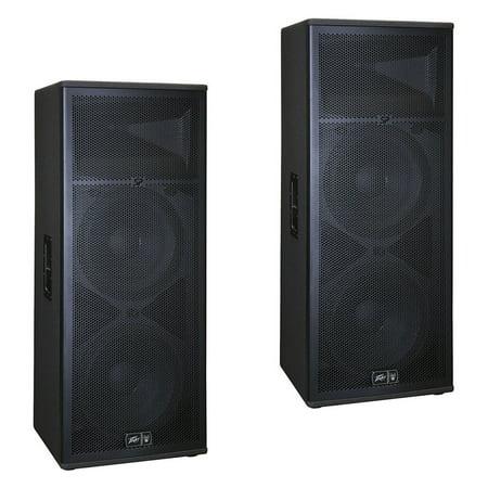 (2) Peavey SP 4 Pro Audio DJ Passive 4000W Dual 15