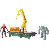 Marvel Spider-Man Rhino Rampage Play Set