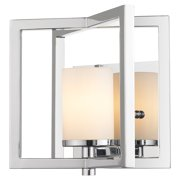 Golden Lighting 2081-1W Baxley 1 Light Bathroom Sconce - 7 Inches Wide