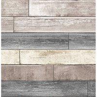 NuWallpaper Reclaimed Wood Plank Natural Peel & Stick Wallpaper