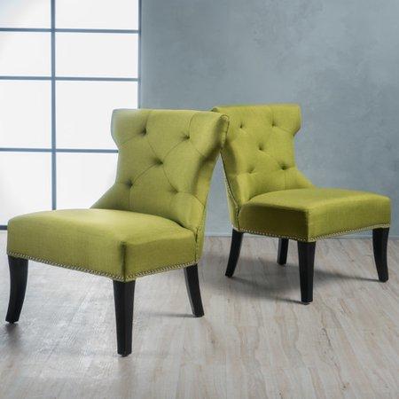 home loft concepts harvey slipper chair set of 2 walmart com