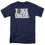 Judge Dredd Logo Mens Short Sleeve Shirt