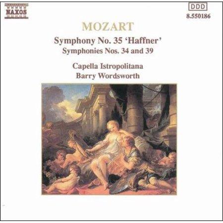 Mozart Haffner Symphony (MOZART: SYMPHONY NO. 35 'HAFFNER'; SYMPHONIES NOS. 34 AND 39)