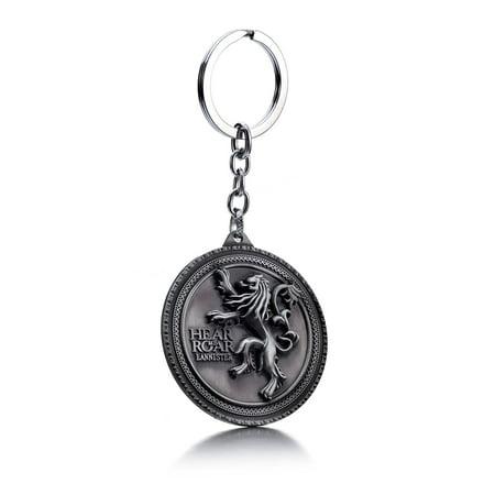 Car Key Keychain (New Game of Thrones House Stark Car Key Chain Keychain)
