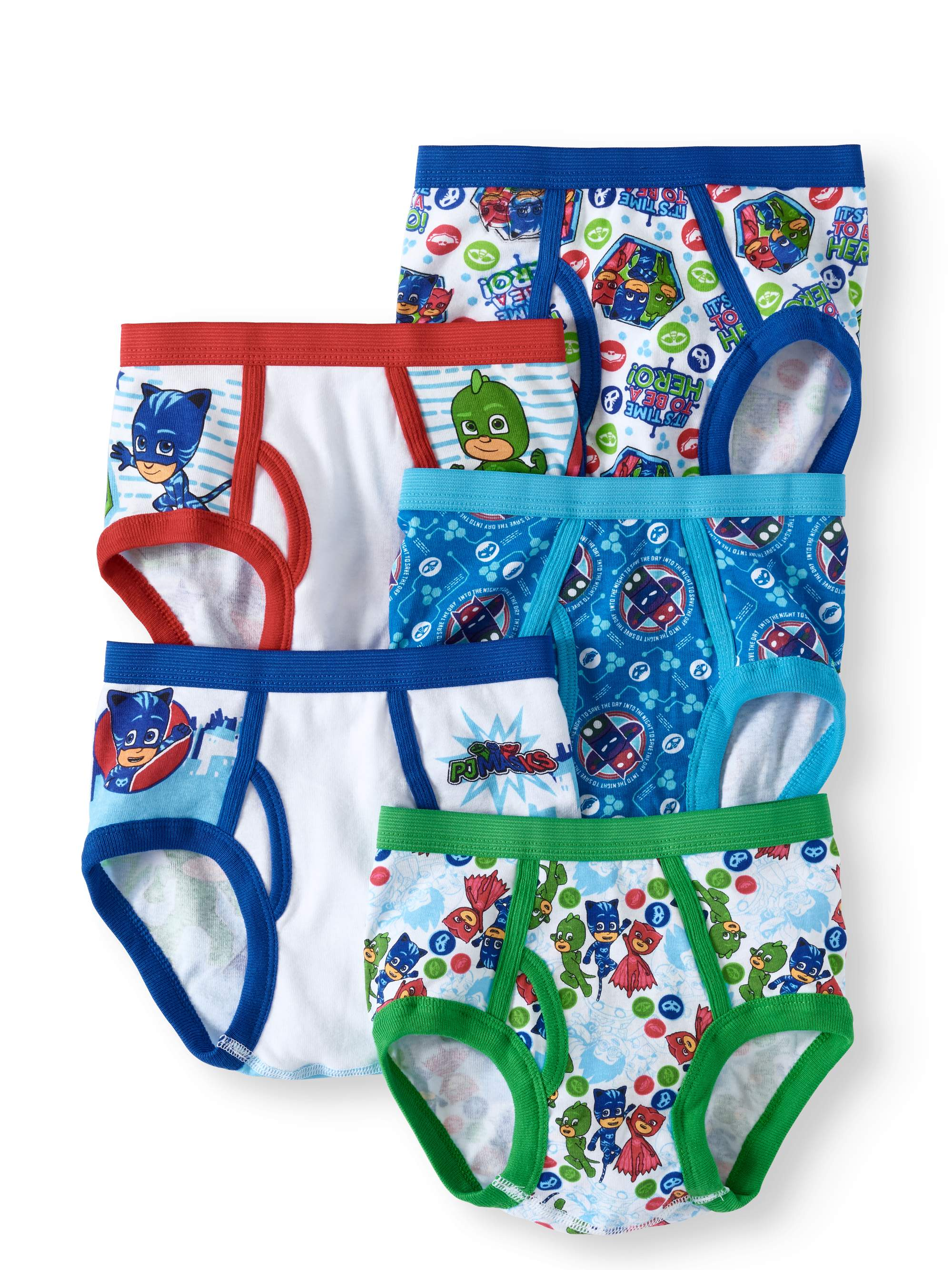 Boys' Disney PJ Masks 5pk Briefs - 6
