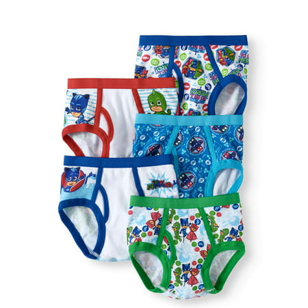 PJ Masks, Boys Underwear, 5 Pack Briefs (Little Boys & Big Boys)