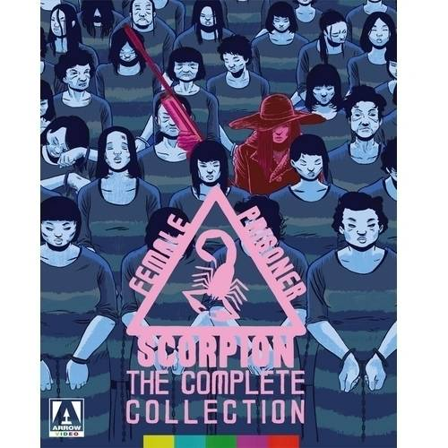 Female Prisoner Scorpion: The Complete Collection (Japanese) (Blu-ray + DVD)