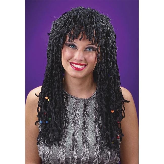 Costumes For All Occasions FW8162R Wig Beaded Twist
