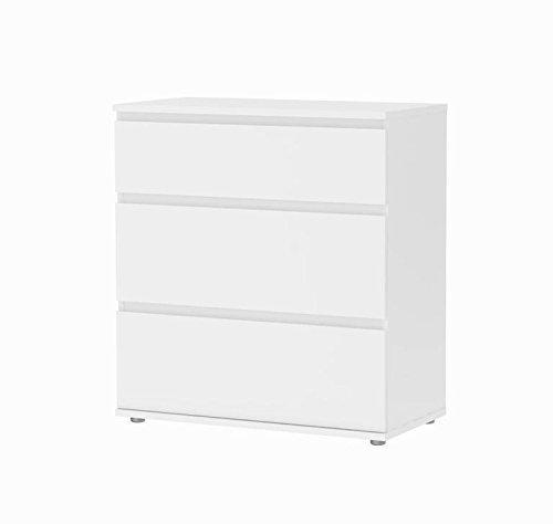 Tvilum Aurora Wide 3 Drawer Dresser