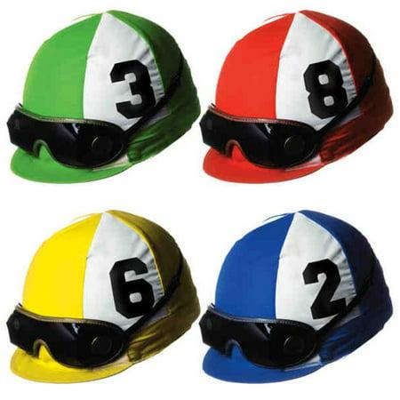 Beistle 54333 Jockey Helmet Cutouts - Pack of 12