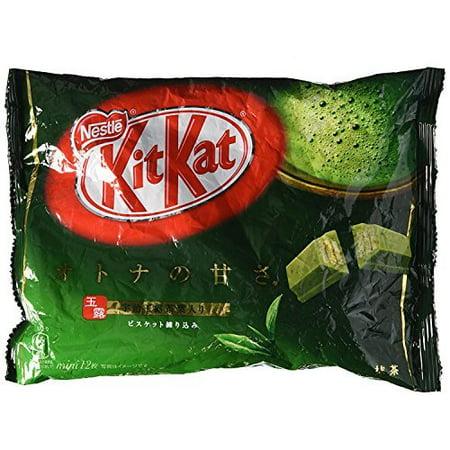 Nestle KitKat Matcha Green Tea Flavor (2 Bag )4.9 Oz Japan Import